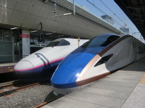 北陸新幹線 かがやき で金沢へ