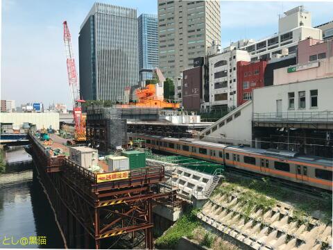 御茶ノ水駅のバリアフリー工事
