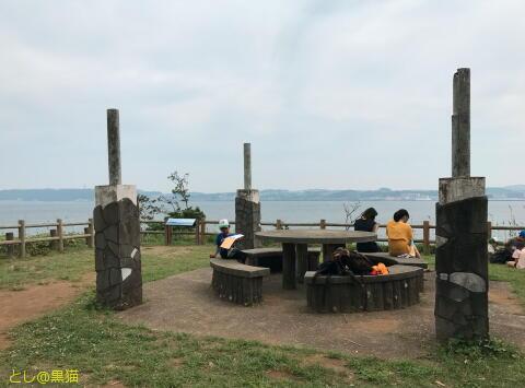 天空の城ラピュタ を 連想させる 猿島 散策