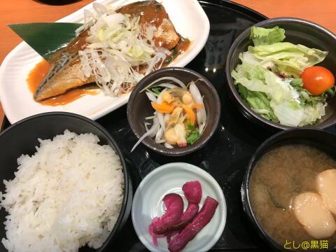 おさかな道場 サバ味噌煮定食