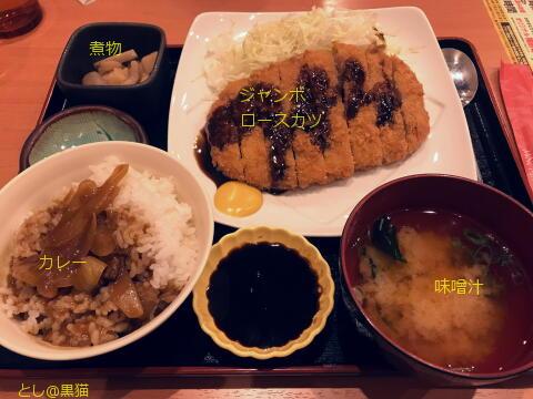 魚民 ロースカツ定食