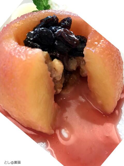 まるごと林檎のコンポート