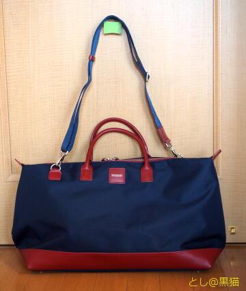 CORDURAの旅行用バッグ