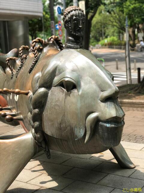 茗荷谷名物、公園の奇妙な遊具